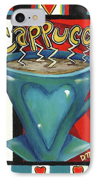 Cappucino IPhone Case by Debbie McCulley