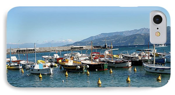 Capri, Campania, Italy IPhone Case by Lilach Weiss