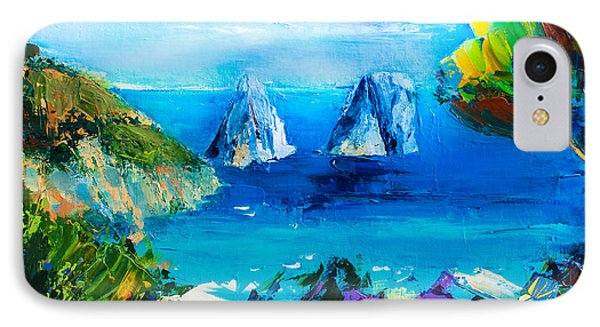 Capri Colors IPhone Case by Elise Palmigiani