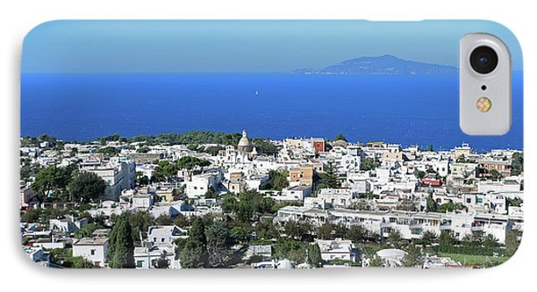 Capri Island, Italy IPhone Case by Lilach Weiss