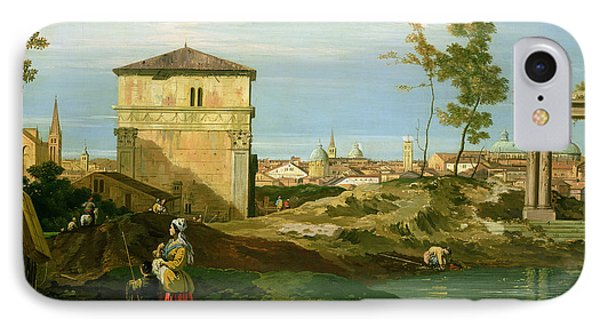 Capriccio With Motifs From Padua Phone Case by Canaletto