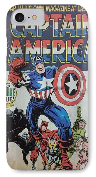 Captain America  Phone Case by Rob Hans
