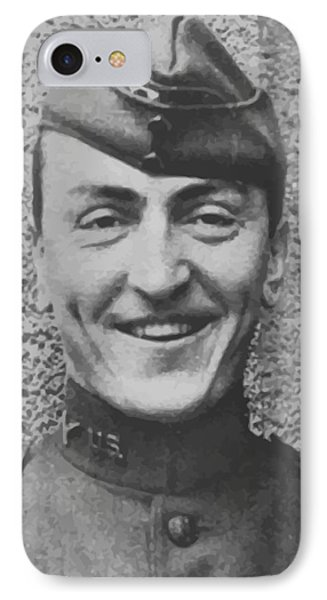 Captain Eddie Rickenbacker IPhone Case by War Is Hell Store