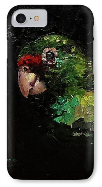 Captain The Parrot IPhone Case by Janet Garcia