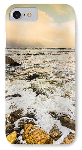 Captivating Coastal Sunrise IPhone Case by Jorgo Photography - Wall Art Gallery