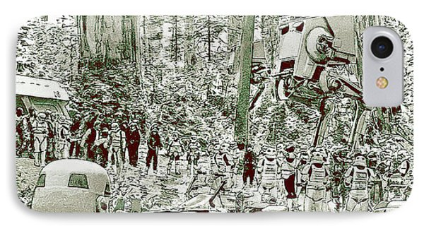 Capture On Endor IPhone Case