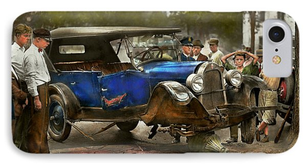 Car Accident - It Came Out Of Nowhere 1926 IPhone Case