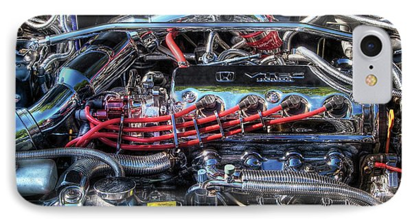 Car - Engine - Car Intestines IPhone Case by Mike Savad