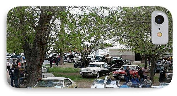 Car Show In Deming N M IPhone Case by Jack Pumphrey