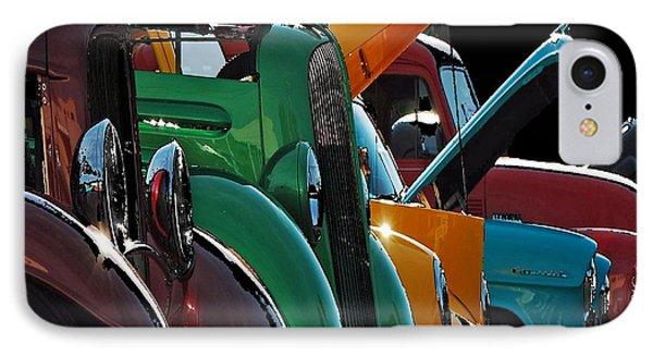Car Show V IPhone Case by Robert Meanor