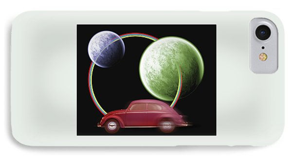 Car Space  IPhone Case by Mark Ashkenazi