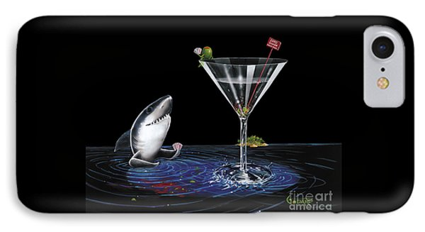 Martini iPhone 7 Case - Card Shark by Michael Godard