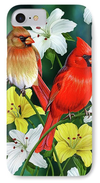 Cardinal Day 2 IPhone Case by JQ Licensing