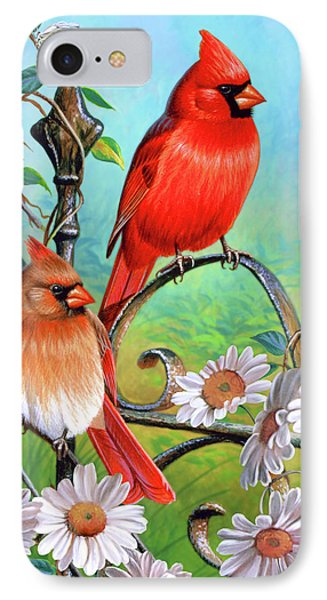 Cardinal Day 3 IPhone Case by JQ Licensing