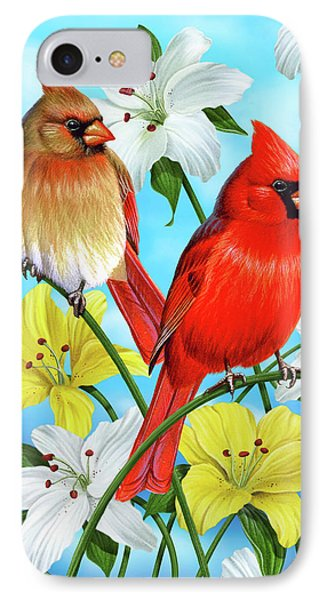 Cardinal Day IPhone Case