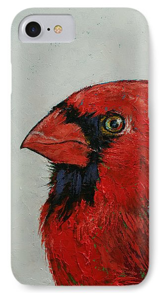 Cardinal IPhone 7 Case by Michael Creese