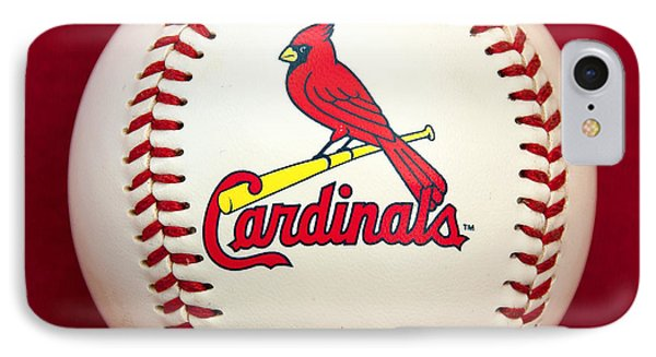 Cardinals IPhone Case by Steve Stuller