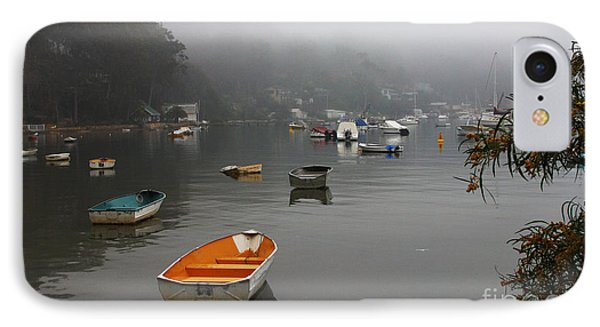 Careel Bay Mist IPhone Case by Avalon Fine Art Photography