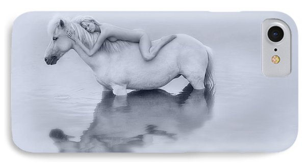 Caress IPhone Case by Sigthor Markusson