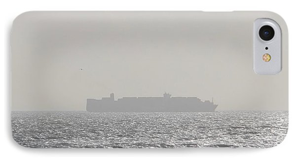 IPhone Case featuring the photograph Cargo Au Large by Marc Philippe Joly