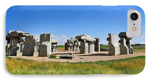 Carhenge IPhone Case by Edwin Verin