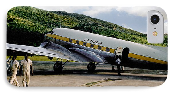Caribair Dc-3 IPhone Case by Wernher Krutein
