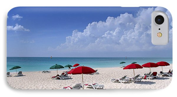Caribbean Blue Phone Case by Stephen Anderson