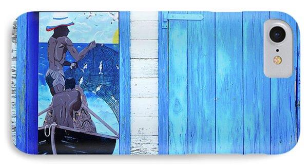 Caribbean Blues IPhone Case
