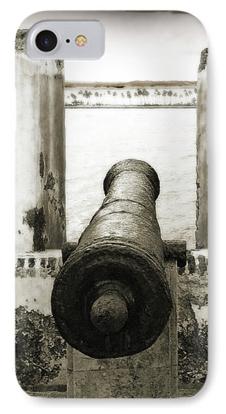 Caribbean Cannon Phone Case by Steven Sparks