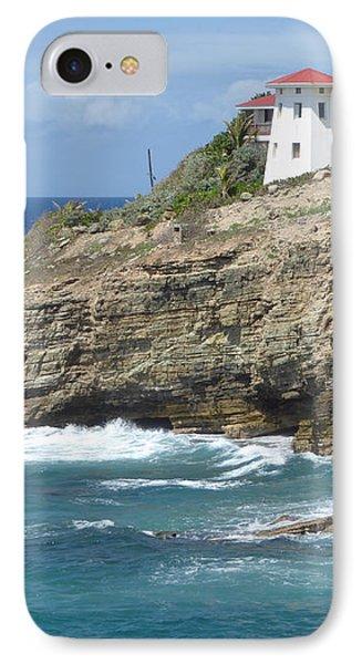 Caribbean Coastal Villa IPhone Case by Margaret Brooks