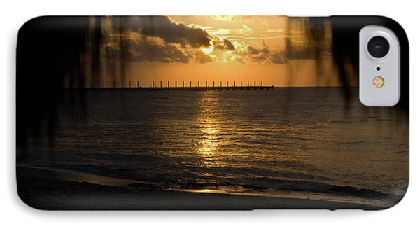 Caribbean Early Sunrise 5 Phone Case by Douglas Barnett