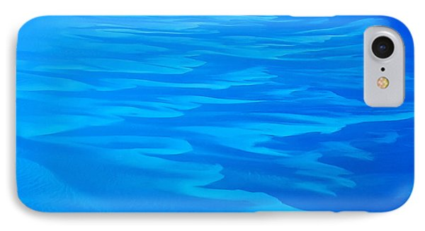 IPhone Case featuring the photograph Caribbean Ocean Abstract by Jetson Nguyen