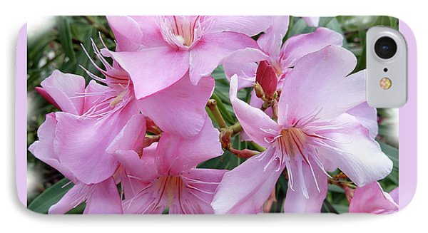 IPhone Case featuring the photograph Caribbean Oleander by Marie Hicks