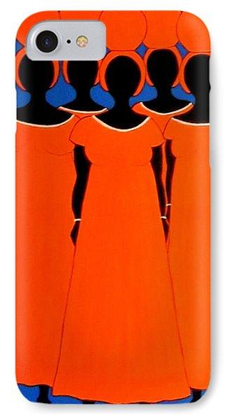 Caribbean Orange IPhone Case by Stephanie Moore