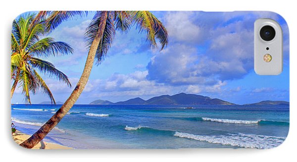 Caribbean Paradise Phone Case by Scott Mahon