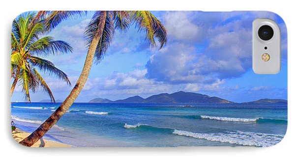 Caribbean Paradise Phone Case by Scott Mahon