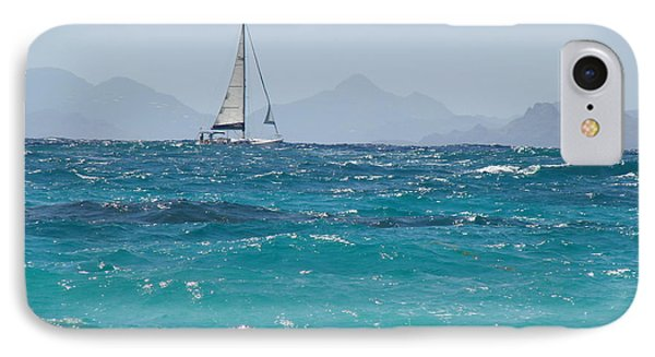 IPhone Case featuring the photograph Caribbean Sailing by Margaret Bobb