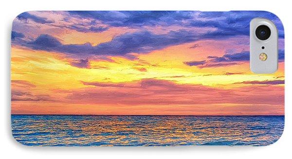Caribbean Sunset IPhone Case