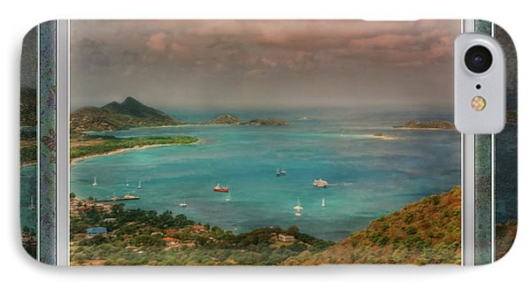 IPhone Case featuring the digital art Caribbean Symphony by Hanny Heim