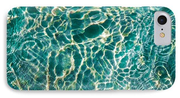 Caribben Waters IPhone Case by Karen Wiles