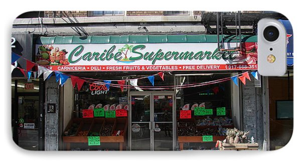 Caribe Supermarket IPhone Case by Cole Thompson