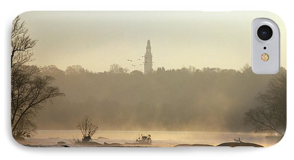Carillon Mist IPhone Case by Kelvin Booker