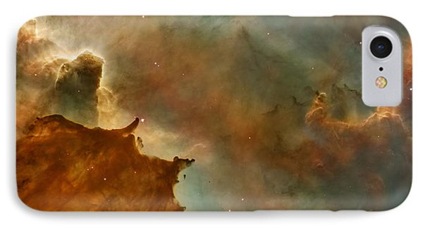 Carina Nebula Details -  Great Clouds IPhone Case by Mark Kiver