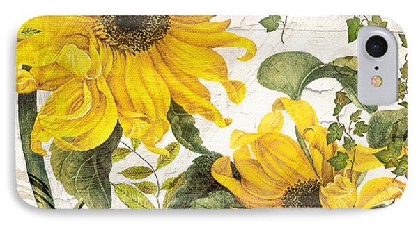 Carina Sunflowers IPhone Case by Mindy Sommers