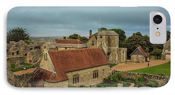 Carisbrooke Castle Isle Of Wight IPhone Case by Martin Newman