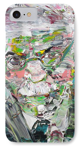 Carl Jung  Portrait IPhone Case