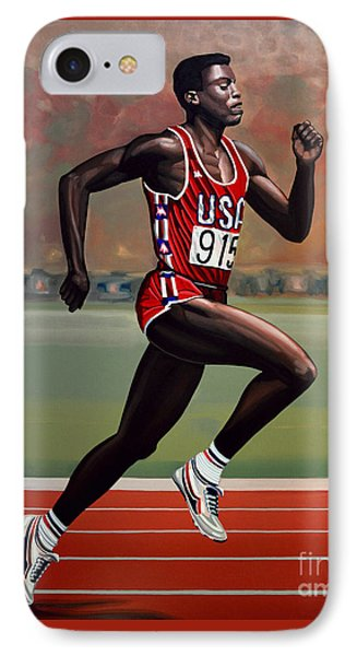 Carl Lewis IPhone Case