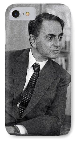 Carl Sagan, Us Astronomer IPhone Case by Ria Novosti
