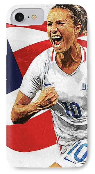 Carli Lloyd IPhone Case