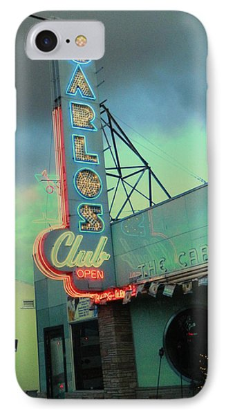 Carlos Club IPhone Case by Kathleen Grace